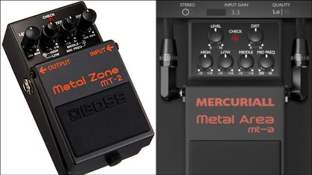 VST Metal Zone MT-2 Emulator Plugin